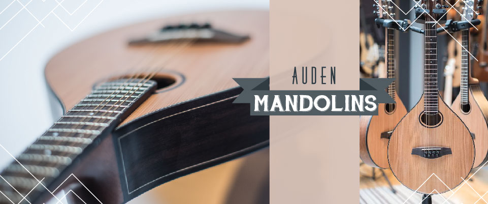 Auden Mandolin header graphic image