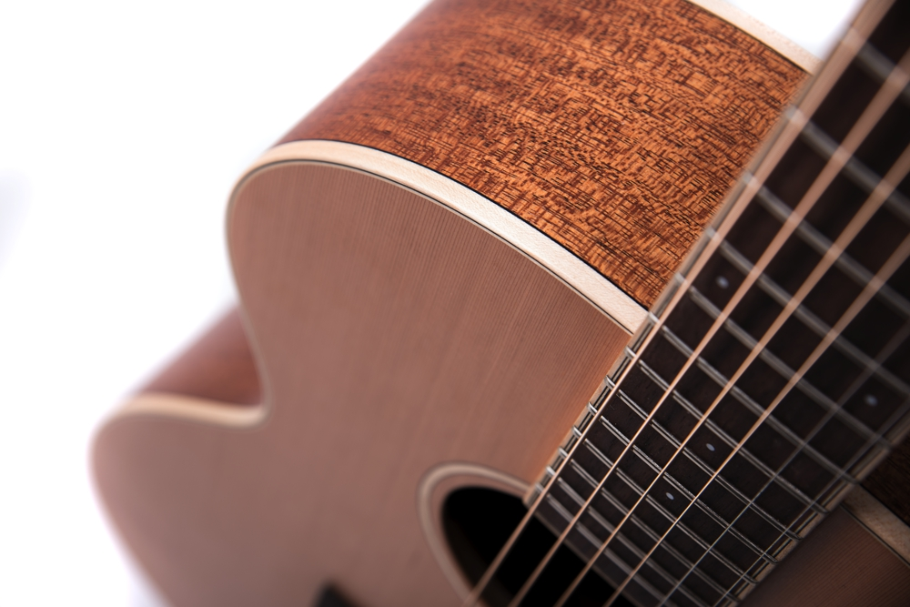 Chester Neo - acoustic guitar by Auden Guitars. Body image.