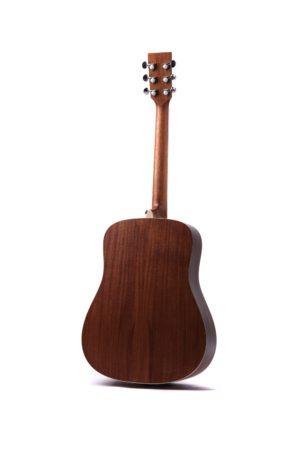 Colton Neo - acoustic guitar by Auden Guitars. Rear image.