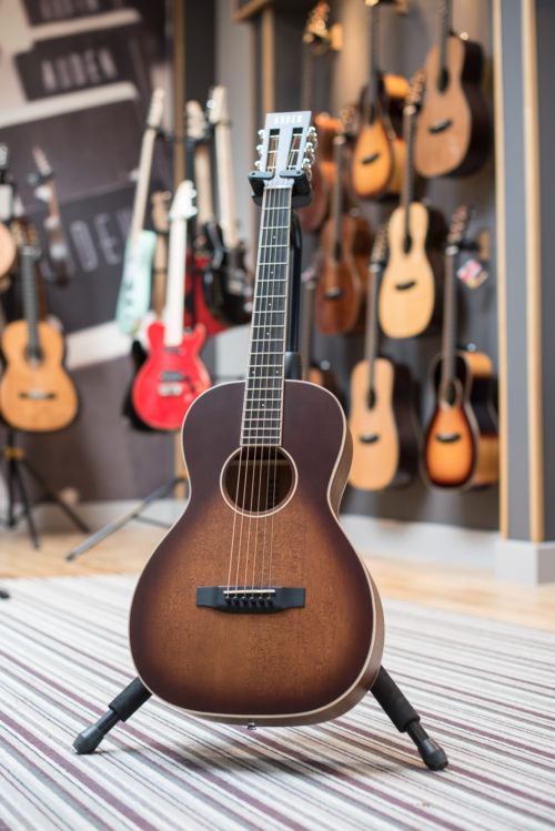 emily rose neo plus acoustic guitars by Auden Guitars - studio image