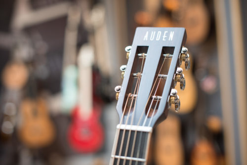 emily rose neo plus acoustic guitars by Auden Guitars - headstock image