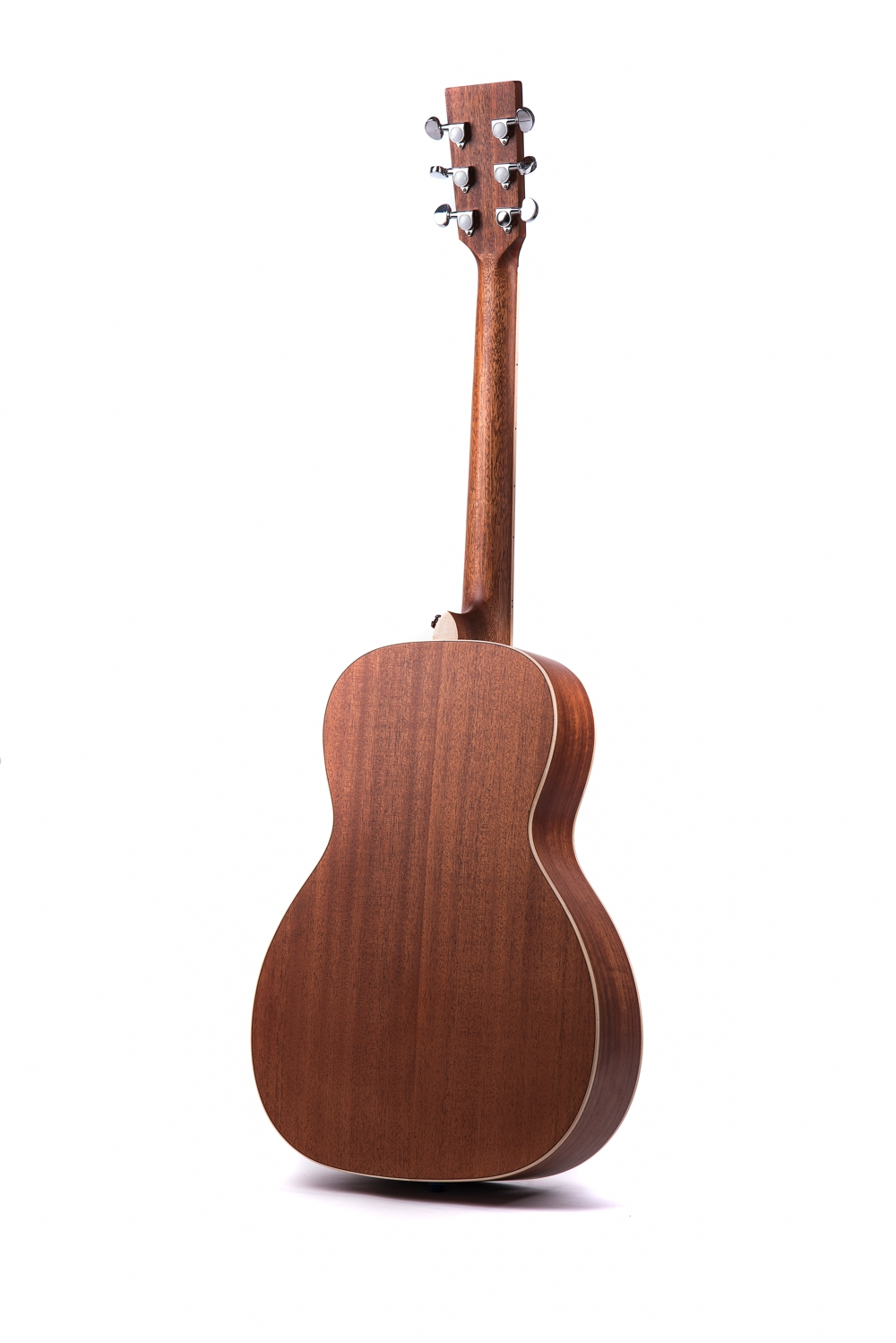 Marlow Neo - acoustic guitar by Auden Guitars. Rear image.