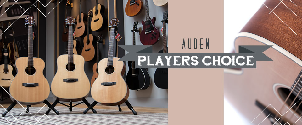 Auden Players Choice header graphic image