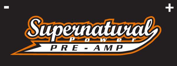 Supernatural pre-amp logo