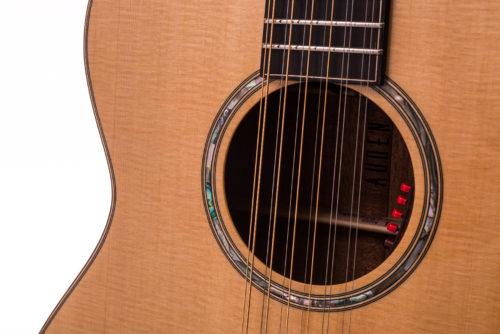 Artist Mahogany Austin 12 String Spruce Fullbody soundhole image