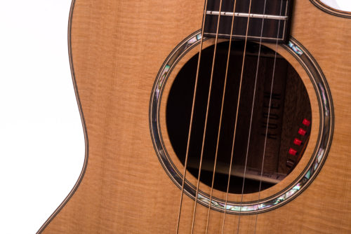 Artist Mahogany Austin Spruce Cutaway soundhole image