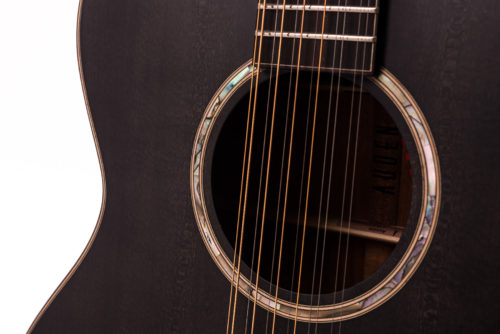 Austin Smokehouse 12 String body and soundhole