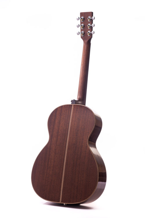 Artist Mahogany Chester Spruce Cutaway - rear image