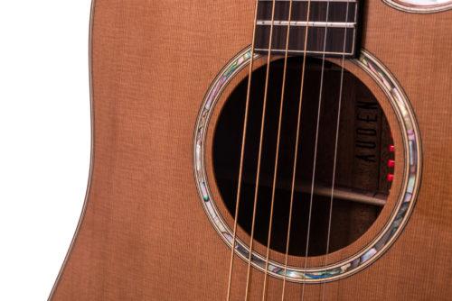 Artist Mahogany Colton Cedar Cutaway - soundhole image