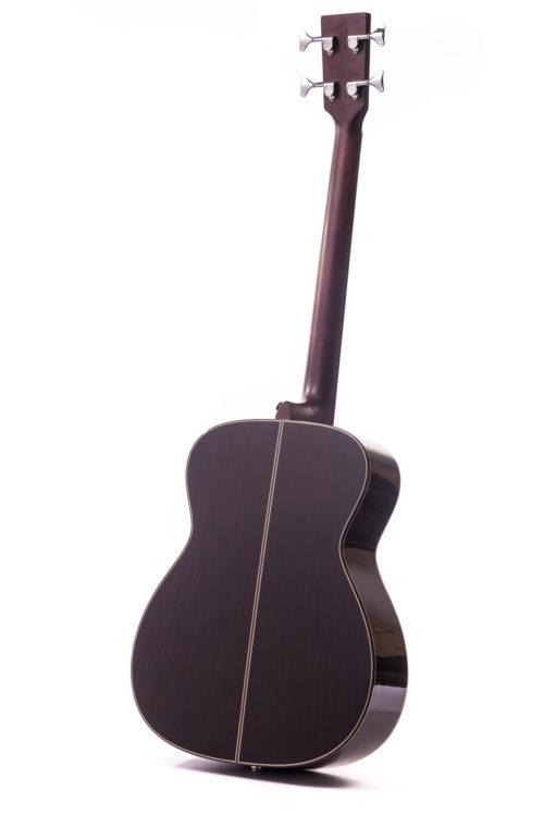 Artist Rosewood Bowman Bass Cedar - rear image