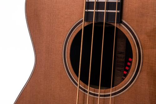 Artist Rosewood Bowman Bass Cedar - soundhole image