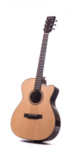 Artist Rosewood Bowman Spruce Cutaway - front image