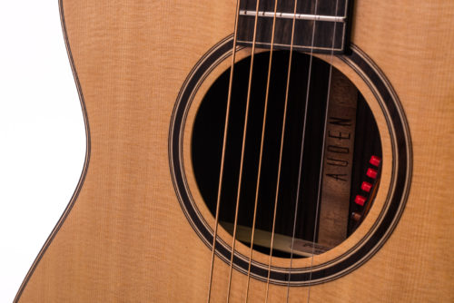 Artist Rosewood Bowman Spruce Cutaway - soundhole image