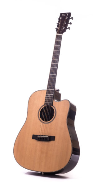 Artist Rosewood Colton Spruce Cutaway - front image