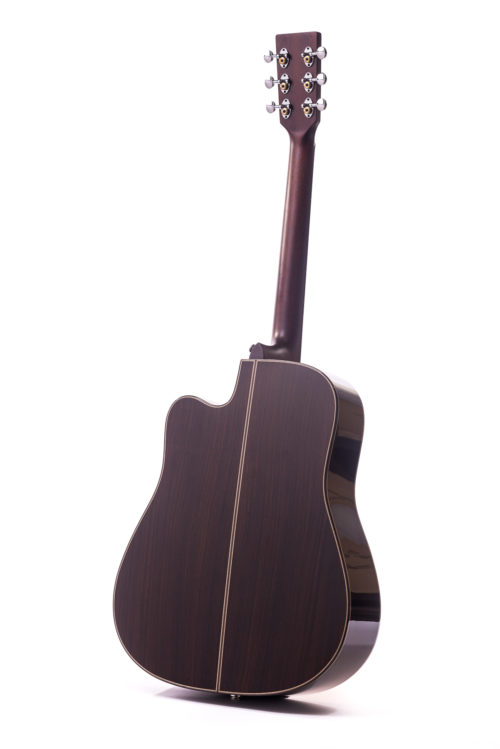 Artist Rosewood Colton Spruce Cutaway - rear image
