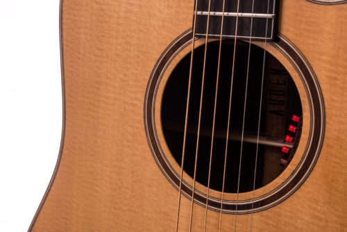 Artist Rosewood Colton Spruce Cutaway - soundhole image
