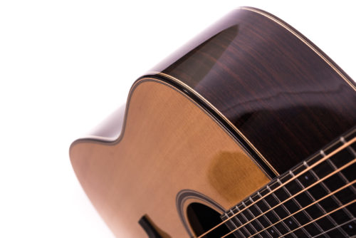 Artist Rosewood Colton Spruce Cutaway - body image