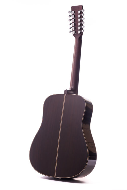 Artist Rosewood Colton 12 String Cedar Fullbody - rear image
