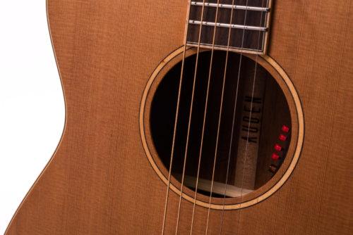 Neo Bowman Cedar Fullbody - soundhole image