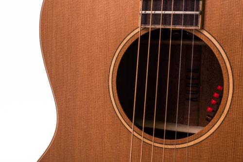 Neo Chester Cedar Fullbody - soundhole image