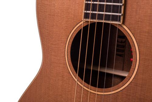 Neo Emily Rose Cedar Fullbody - soundhole image