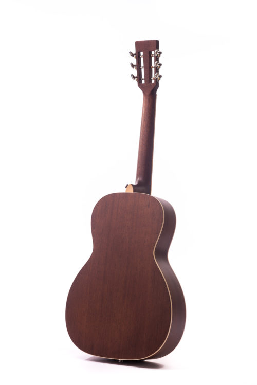 Special Emily Rose Tobacco Burst Cedar Fullbody - rear image