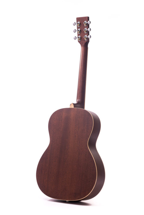 Special Julia Tobacco Burst Cedar Fullbody - rear image