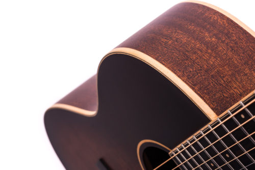 Special Julia Tobacco Burst Cedar Fullbody - body image