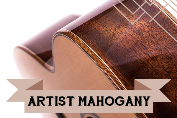 The artist mahagony range from Auden Guitars