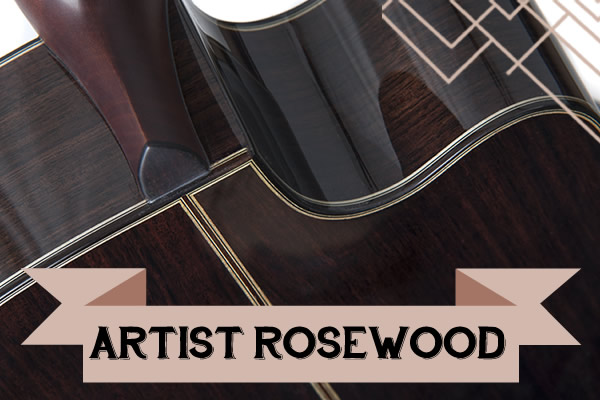 The artist Rosewood range from Auden Guitars