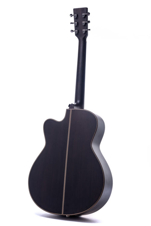 Austin Smokehouse cutaway Spruce acoustic guitar from Auden Guitars.