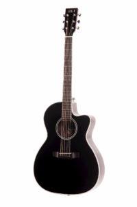 Chester Cedar Cutaway Black front
