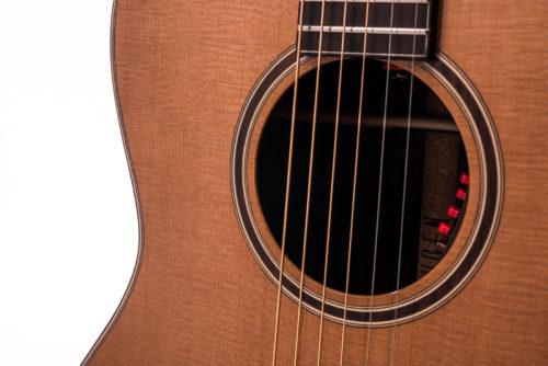 Artist Rosewood Julia acoustic guitar - soundhole