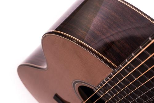 Artist Rosewood Julia acoustic guitar - body