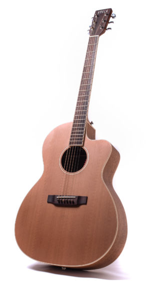 neo chester cutaway acoustic guitar front