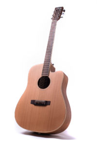 neo colton cutaway acoustic guitar front