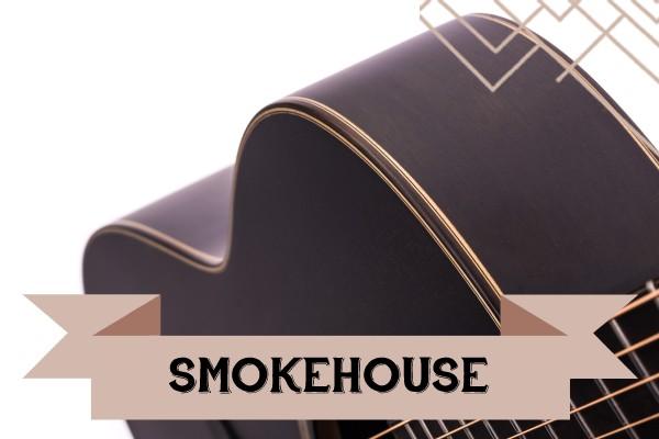 Smokehouse range of Auden Guitars graphic